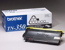 Brother TN-350 2500 Pages Toner Cartridge Black - Sealed New