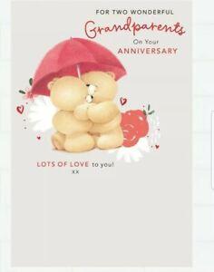 Hallmark Forever friends Grandparents Anniversary Card