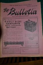 Vintage The BULLETIN newspaper   August 20th 1958  FREEPOST IN AUSTRALIA