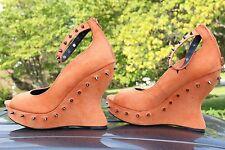 fRh Fun Spikes Fetish Dominatrix Punk Rocky Horror Halloween Womens Shoes 7.5- 8