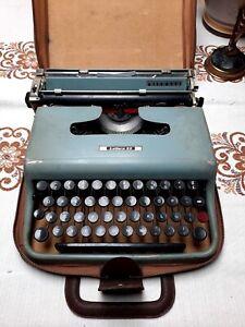 Macchina da scrivere olivetti lettera 22 Con Custodia
