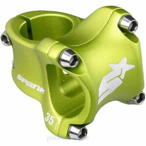 SPANK SPIKE RACE 2.0 VORBAU 35mm Ø 31,8mm DOWNHILL ENDURO ALL MOUNTAIN BIKE GRÜN
