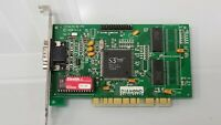 USED DIAMOND S3 TRIO32 STEALTH SE VGA PCI VINTAGE GAMING VIDEO CARD WORKING #S6