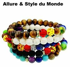 Chakras bracelets en pierre