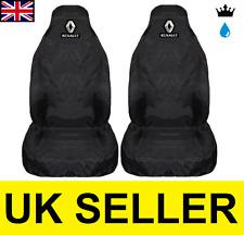 RENAULT MEGANE PREMIUM CAR SEAT COVERS PROTECTORS 100% WATERPROOF / BLACK