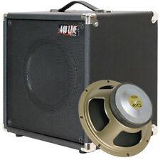 1x10 Guitar speaker extension cabinet bronco black tolex W/Celestion V10 speaker