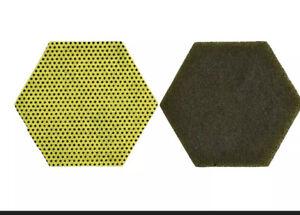 Scotch-Brite 3M 85946 Dual Purpose Scour Pad 96HEX HEAVY DUTY Lot Of 15 NEW