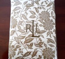 """New Ralph Lauren Pineview Cream Gold Christmas Holiday Tablecloth 60"""" x 84"""""""