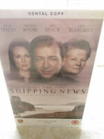THE SHIPPING NEWS - 1999 MIRAMAX FILMS BIG BOX EX RENTAL VHS TAPE PAL SYSTEM
