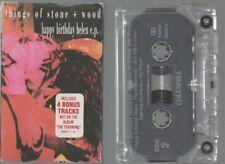 THINGS OF STONE + WOOD cassingle EP HAPPY BIRTHDAY HELEN 4 non LP tracks
