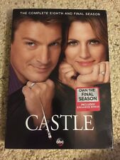 Castle: The Complete Eighth Season 8 (DVD, 2016, 5-Disc Set) New Sealed