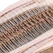 1500 Pcs 75 Value 1 ohm~ 10M ohm 5% 1/4W Carbon Film Resistor Assorted kit