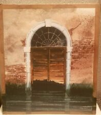 VENITIAN OLD DOOR WATERCOLOUR FROM WELSH ARTIST GARETH THOMAS;s Portfolio