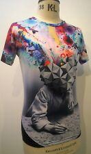 Señor 1991 Inc & Miss ir Unisex Todo Imprimir Camiseta Camiseta Bnwt Festival Clubbing