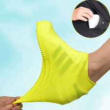 Silicone Overshoes Rain Waterproof Non-slip Shoe Covers Boot Protector Reusable