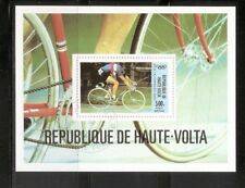 Burkina Faso SC # C262 Olympics Moscow 1980. Souvenir Sheet. MNH