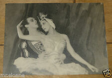 MARGOT FONTEYN VINTAGE GORDON ANTHONY ORIGINAL BALLET PHOTO W/ ROBERT HELPMANN 4