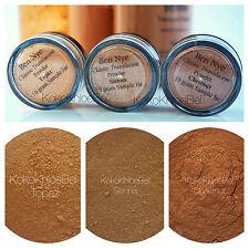 3Pc. Sample | Ben Nye Powder 10gm Jars| TOPAZ, SIENNA & CHESTNUT