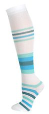 Nurse - Medical White Wave 10-14mmHG Fashion Compression Socks