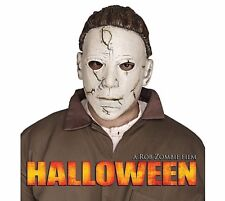 Adulto Michael Myers Maschera Deluxe Horror Halloween Ufficiale Assassino Costume