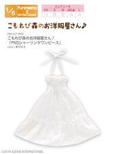 Azone Pureneemo PNS Ribbon Shirring One-piece White Obitsu Momoko Blythe Pullip