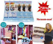 "5 Pcs 20""x28"" Space Saving Vacuum Seal Bag Home Cloth Storage Organization"