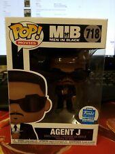 Agent J 718 Men In Black Funko Pop Figure Limited Edition