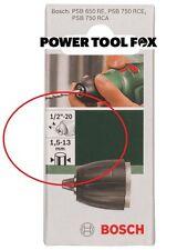 Bosch Mandril Sin llave PSB 650 rcepsb 750RCE 1.5-13mm 2609255729 3165140546393 #B
