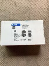 Eaton GFEP220 Circuit Breaker w/ Ground Fault Equipment Protection 20A 2-Pole