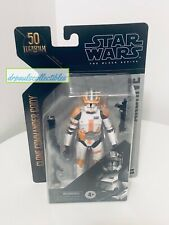 Star Wars Black Series Archive Clone Commander Cody 6? Figure New (light wear)