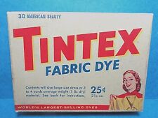 Tintex American Beauty Fabric Vintage Clothes Dye