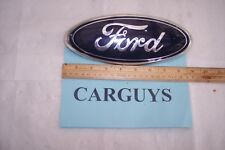 "FORD OVAL EMBLEM 9"" X 3 1/4"" OVAL FOR TAILGATE OF F150 P/N 4L34-150402A16-CA"