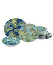 Certified International Tropicana Melamine 12 pc Dinnerware Set