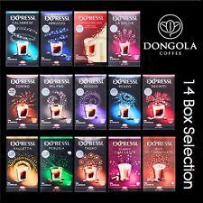 14 BOX (224) You Choose Expressi Automatic Coffee Machine Capsules Pods ALDI