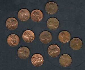 GOOD CIRCULATED UNITED STATES ABRAHAM LINCOLN 1 CENT COINS CHOOSE DATE