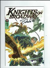 Knights On Broadway #1 (Jul 1996, Broadway Comics) Mint 9.6 Signed by Jim Shoote