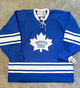 Toronto Maple Leafs Blank 1967 Style Vintage CCM NHL Jersey Size XXL with tags