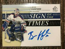 BILL RANFORD 2019-20 SP Authentic Sign Of The Times Auto C'D SOTT-BR