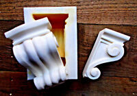 Silicone Rubber Mold Wall Corbels Shelf Support Brackets Plaster Resin Cement