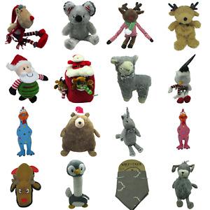 Rosewood Christmas Dog Toys Puppy Santa Rudolph Unicorn Bear Penguin Turkey