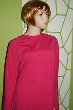 adidas PERFORMANCE TF CW CREW Shirt langarm laufen Gr.XL pink/rosa CLIMAWARM
