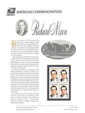 #456 32c President Richard Nixon #2955 USPS Commemorative Stamp Panel