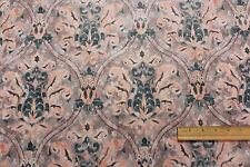 "Vintage ""Crete"" Polyester Drapery Upholstery Fabric Per Yard 519-803634"