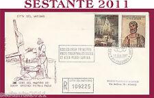 VATICANO FDC FILAGRANO 1967 CENTENARIO MARTIRIO SS. PIETRO E PAOLO (328)