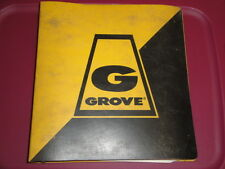GROVE RT755 Crane Illustrated PARTS Manual  Cummins V555C 04/1980