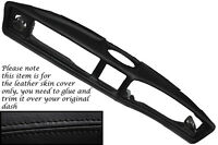 BLACK STITCHING FITS TRIUMPH STAG MK1 MK2 DASH DASHBOARD LEATHER SKIN COVER ONLY