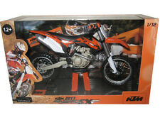 2013 KTM 450 SX-F 1/12 DIRT MOTORCYCLE MODEL BY AUTOMAXX 603001
