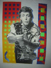 Vintage Concert T-Shirt PAUL McCARTNEY 89 NEVER WORN NEVER WASHED
