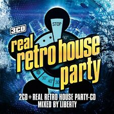 CD REAL RETRO HOUSE PARTY (2cd + MIXcd - new & sealed!)