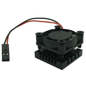 Cooler Kit For Raspberry Pi 3 B+, Cooling Fan + Aluminum Heatsink ( 25*25*16mm )